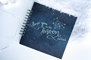 Celestial Baby Book, Moon and Stars and Constellations Baby Journal | LGBTQ Friendly