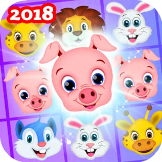 Pet Jam - Blast, Crush Animal Zoo. Rescue Animal Games in Animal Kingdom (Best Animal Puzzle Game for Kindle Edition)