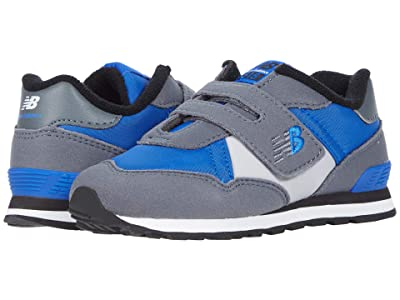 New Balance Kids 515R Classic (Infant/Toddler) (Lead/Cobalt) Boy
