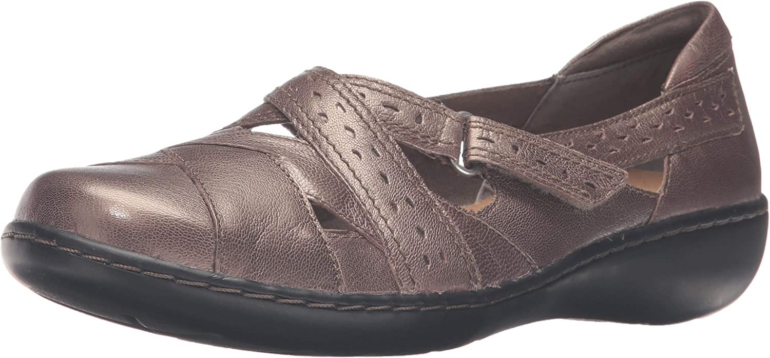 Clarks Women's Ashland Spin Ranking TOP19 Slip-On Q Tampa Mall Loafer
