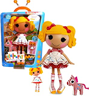 Lalaloopsy MGA Entertainment Sew Magical! Sew Cute! Limited Edition 12 Inch Tall Button Doll - Spot Splatter Splash with Pet Zebra and Bonus Mini 3 Inch Tall Doll