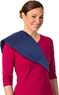 Sunny Bay Two-in-one Ice Pack & Heating Wrap: Reusable Large Therapy Pads for Sore Back Neck Knee & Shoulder Pain Relief P...
