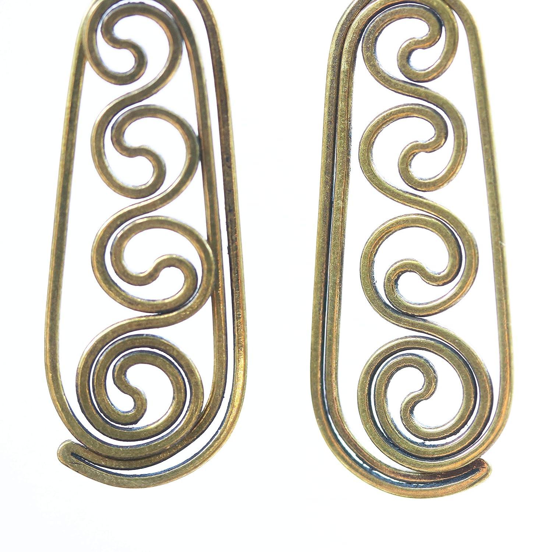 Earrings Fresno Mall Brass earrings in oval shape gemstone with on st All items free shipping garnet