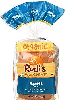 Rudi's Bakery Bread, Spelt, 20 Oz