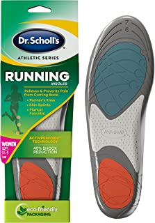 Dr. Scholl's Women's Synthetic Running Insoles (5.5-9)
