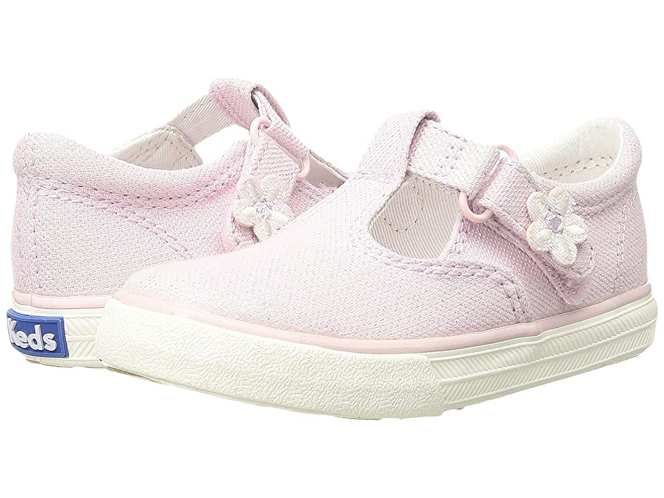 Keds Kids Daphne (Toddler/Little Kid) (Pink Shimmer) Girl