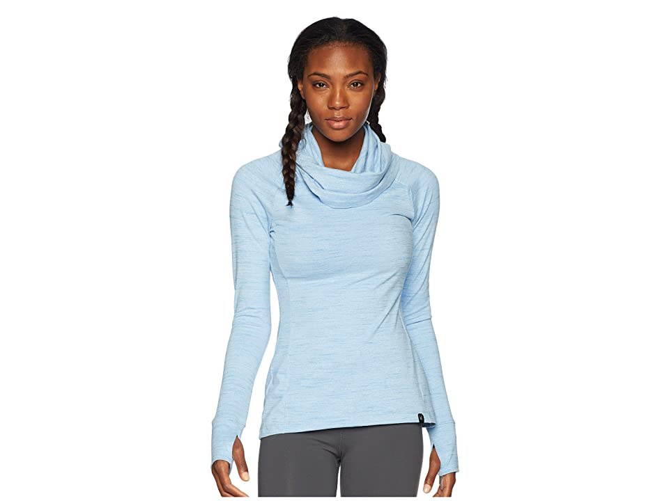 Spyder Solitude Funnel Neck Top (Blue Ice/Blue Ice) Women