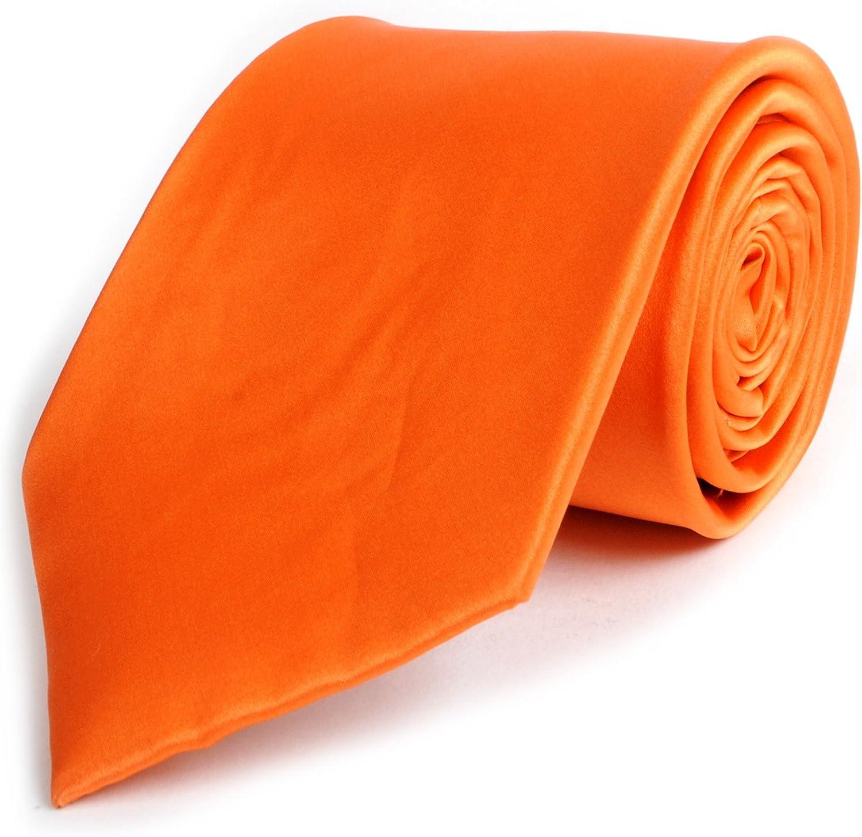 Elegant Men's Silk Satin Tie