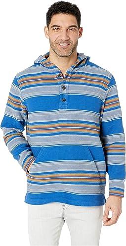 51017cfb1641 Ocean Stripe. 1. Pendleton. Serape Stripe Popover Hoodie