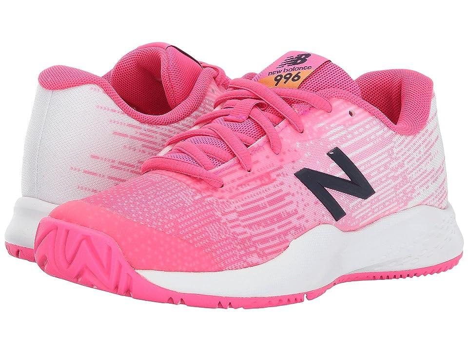 New Balance Kids KC996 (Little Kid/Big Kid) (Alpha Pink/Alpha Pink) Girls Shoes