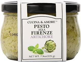 Cucina & Amore Pesto Sauce, Artichoke, 7.9 Ounce (Pack of 6)