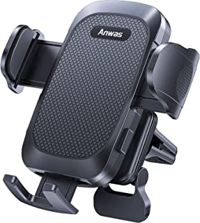[Big Phone & Thick Case Friendly] Air Vent Phone Mount for Car & Truck [Easy 1 Hand Use] Universal Car Cell Phone Holder Fit for iPhone 12 11 Pro Max Mini XS MAX XR X 8 Plus, Samsung, OnePlus etc.