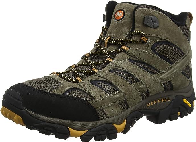 Merrell Moab 2 Mid Vent, Chaussures de Randonnée Hautes Homme