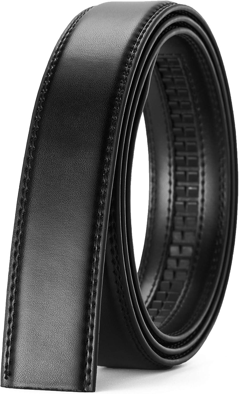 "CHAOREN Ratchet Belt Strap Only 1 1/4"", Replacement Leather Belt 1.25"