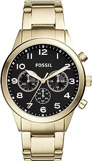 Fossil Flynn Pilot Stainless Steel Watch - BQ2121
