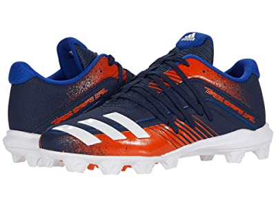 adidas Kids Afterburner 6 MD K Baseball (Toddler/Little Kid/Big Kid) (Navy/White/Royal) Kids Shoes