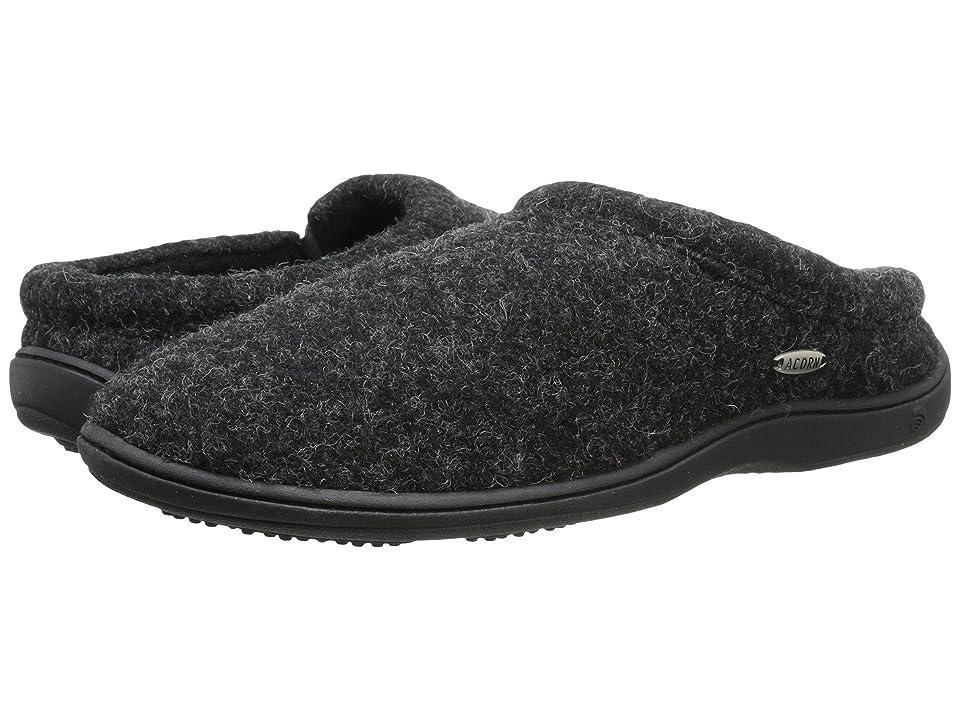 ea222715fb3a Acorn Digby Gore (Black Tweed) Men s Slippers