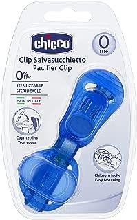 Clip Protetor de Chupeta, Chicco, Azul