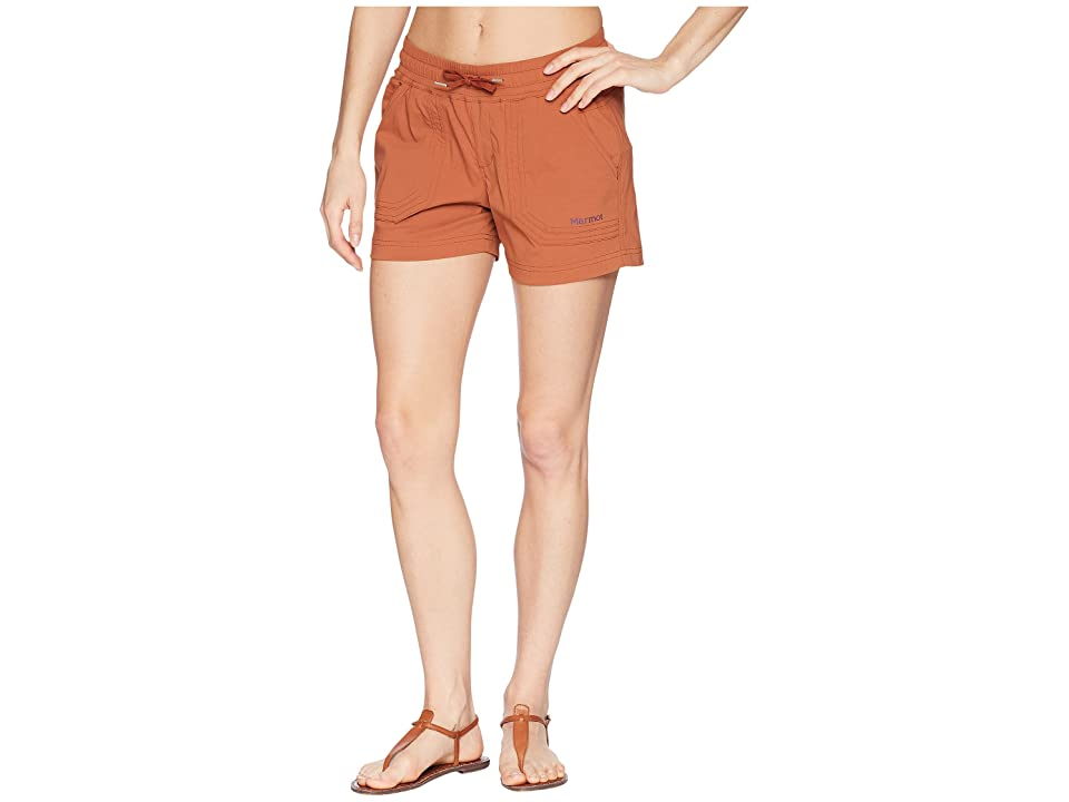 Marmot Harper Shorts (Terracotta) Women