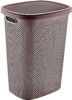 Hobby Life Laundry Basket Diamond Design (Chocolate)