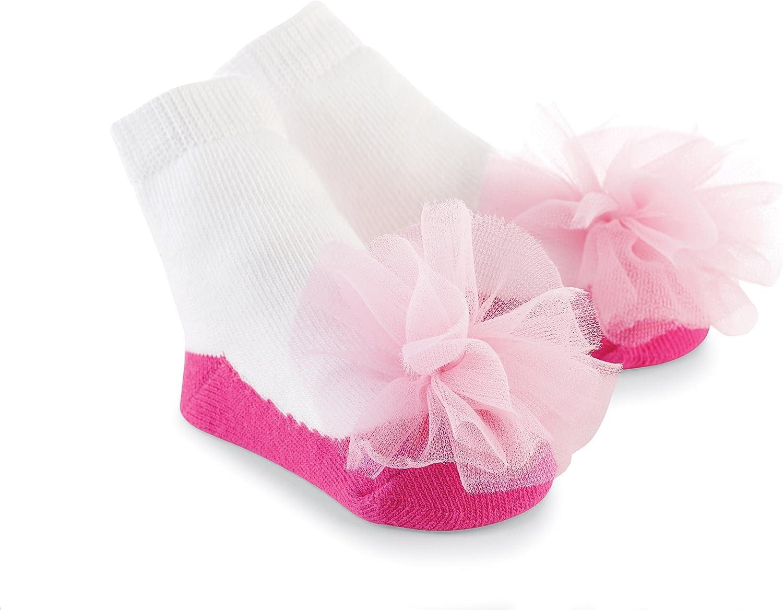 Mud Pie Baby-Girls Newborn Chloe Sock