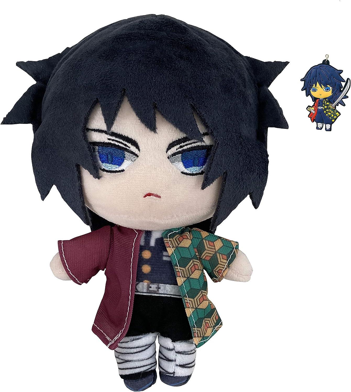Tomioka Giyuu Plush Toy 2021 new Save money Doll Character Plushies Anime Stuffed Fi