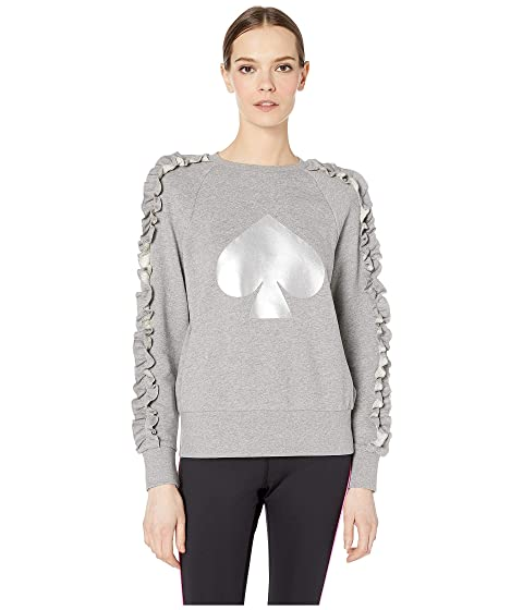 Kate Spade New York Athleisure Spade Ruffle Pullover