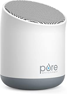 Pure Enrichment WaveMini Travel Sound Machine - 6 Soothing All-Natural Sounds - White Noise, Fan, Ocean, Rain, Stream, and Summer Night - Compact White Noise Machine with Built-in Lithium Battery