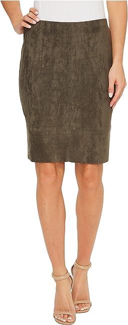 Karen Kane - Faux Suede Skirt