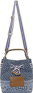 CODELLO Damen Beutel-Tasche | Logo-Design | 100% Baumwolle Canvas | 31 x 24 x 17 cm