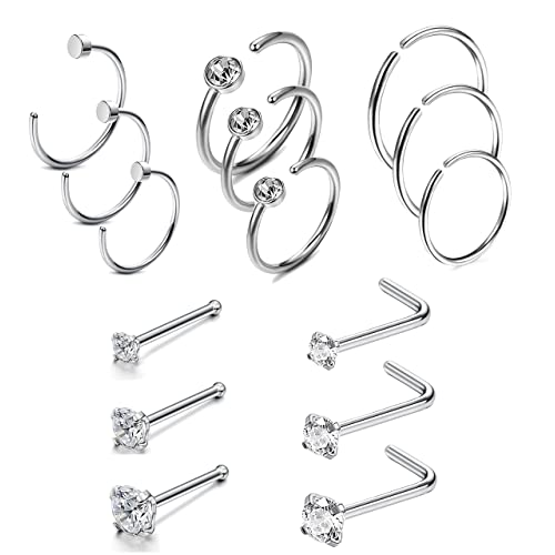 Real Nose Rings Amazon Com