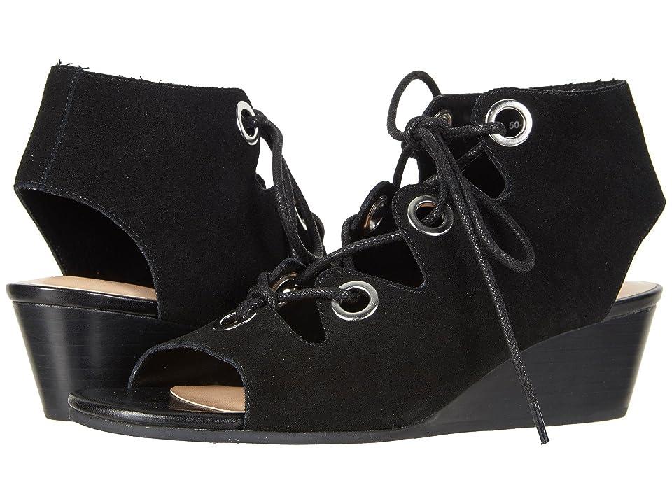 Bella-Vita Ingrid (Black Suede Leather) Women