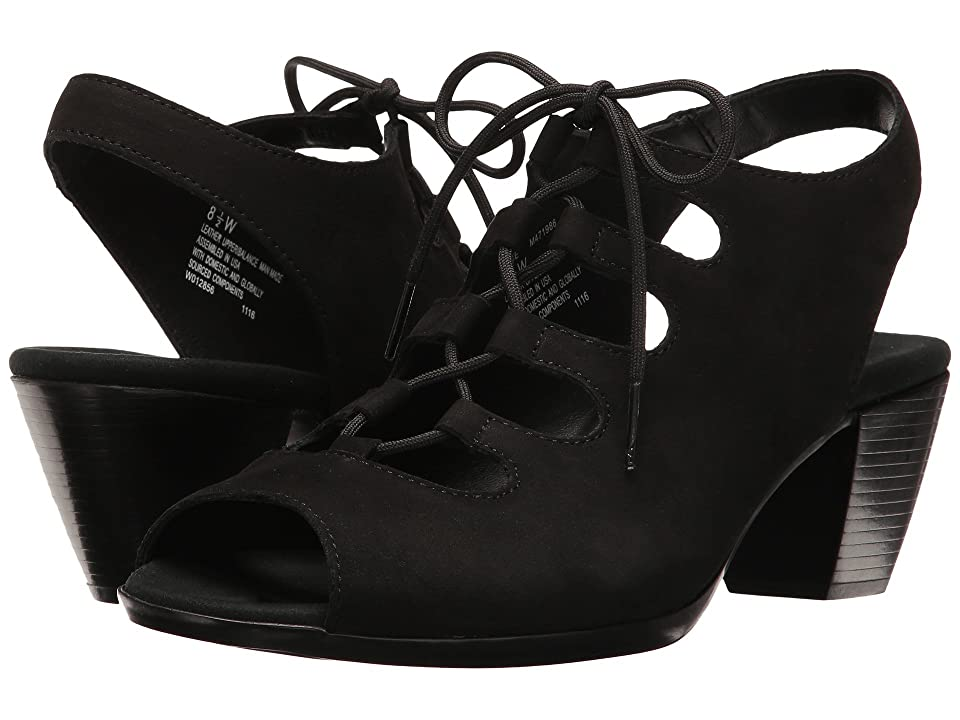 Munro Jillie (Black Nubuck) Women