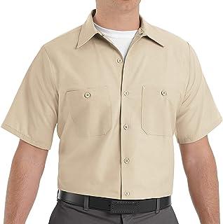 Red Kap mens Industrial Work Shirt, Short Sleeve Industrial Work Shirt, Short Sleeve (pack of 1)