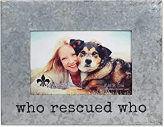 who rescued who picture frame