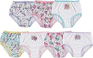 Handcraft Little Girls' My Little Pony Rotating Print Underwear Set (Pack of 7)