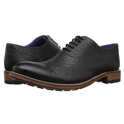 Ted Baker Guri 9 (Black Leather) Men