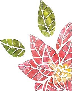 Sizzix 664212 Poinsettia Pieces by Tim Holtz Dies, Multicolor
