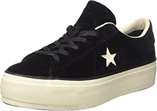 Converse One Star, Women's Gymnastics Shoes, Black (Black/egret/Black), 8 UK (41.5 EU)