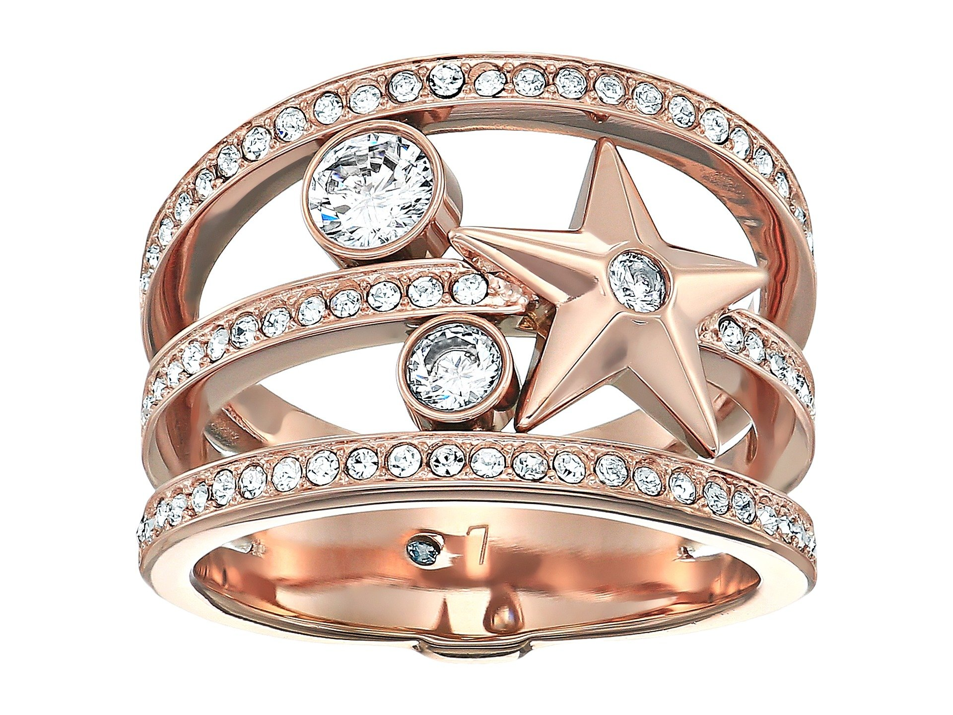 Anillo para Mujer Michael Kors Brilliance Star Banded Ring  + Michael Kors en VeoyCompro.net