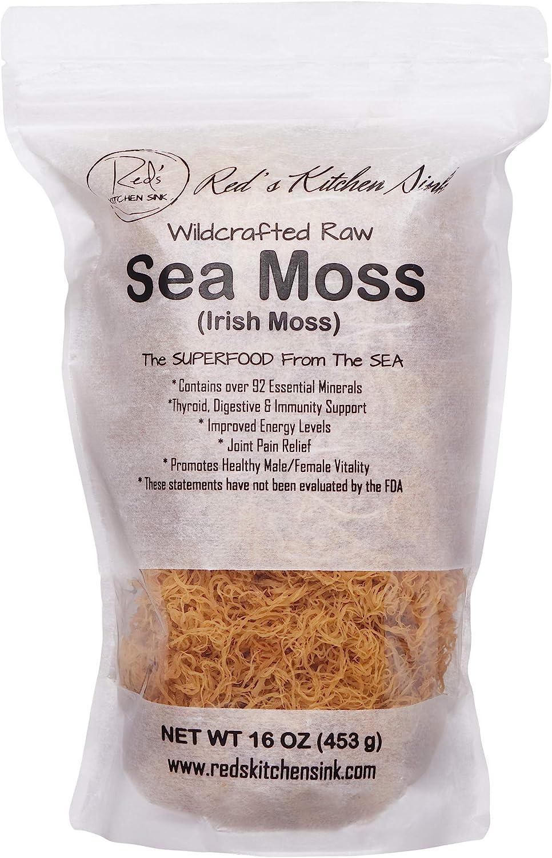 WILD DR SEBI IRISH MOSS SEA MOSS 100/% NATURAL