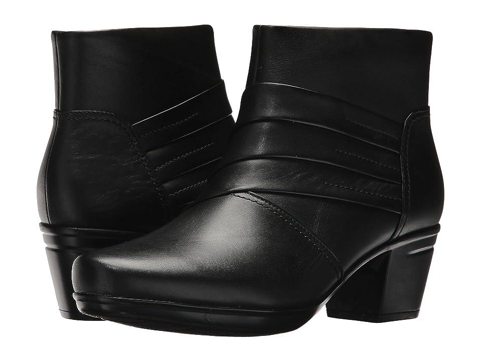 Clarks Emslie Moxie (Black Leather) Women