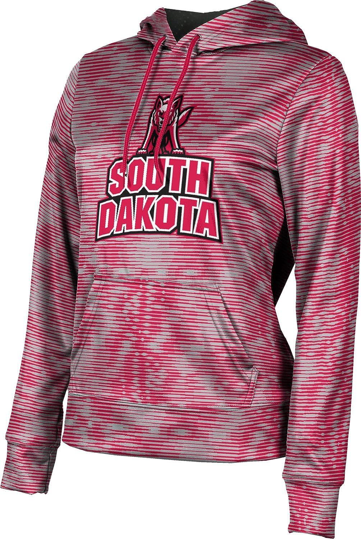 University of South Dakota Girls' Pullover Hoodie, School Spirit Sweatshirt (Velocity)