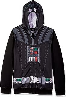 Men's Darth Vader Character Zip Front Hoodie