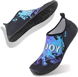 FELOVE Chaussures de Sports Nautiques Barefoot à séchage Rapide Aqua Swim Chaussettes de Yoga en Cours de Yoga Chaussures ...