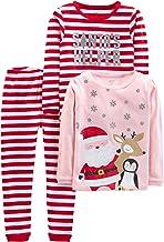 NWT Carter/'s Fair Isle SnowFlake Pajamas Set Toddler Cotton Christmas