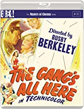 The Gang's All Here 1943  The Girl He Left Behind The Gang is All Here  NON-USA FORMAT Reg.B United Kingdom