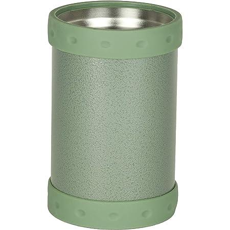 パール金属 保冷缶ホルダー 缶クーラー タンブラーにもなる 2WAYタイプ 350ml缶用 オリーブ D-5719