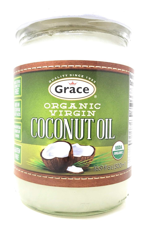 Grace Organic Virgin 500ml Coconut Cash special price shop Oil