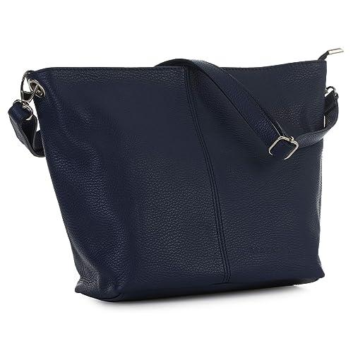 373cadfa4017 LiaTalia Women s Bag – Genuine Leather Bag – Medium Hobo Shoulder Bag –  Made with 100